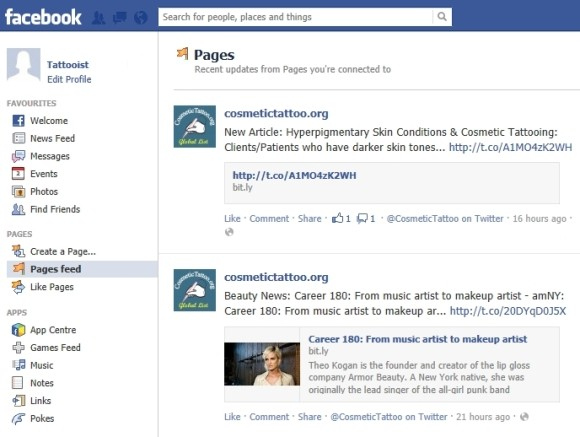 how to find your follow pages on facebook