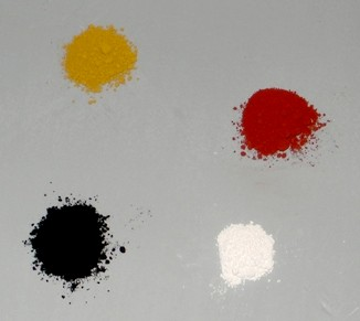 Tattoo Pigment Colourant Powders