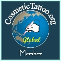 cosmetic tattoo member logo