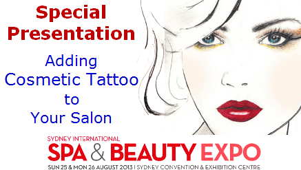 Special Presentation at Sydney Spa & Beauty Expo 2013