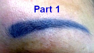 Why do Cosmetic Tattoos Change Colour Part 1