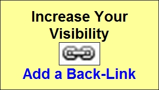 Increase Your Visibility - Add a Back-Link