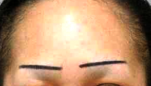 Badly Designed Asymmetrical Eyebrows
